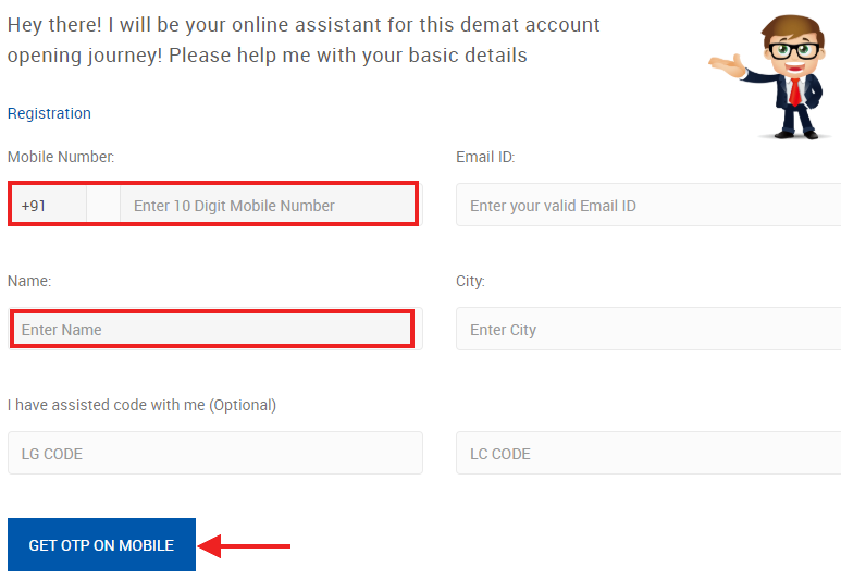 Online Account opening Axis Direct